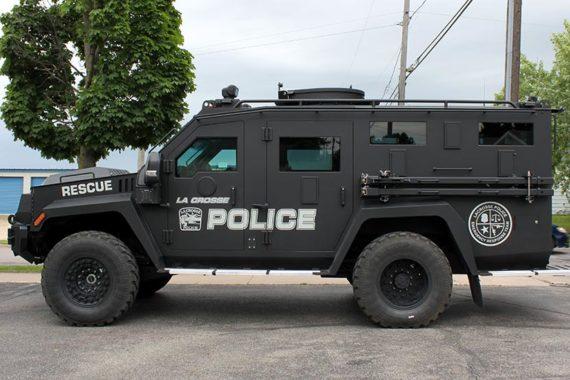 La Crosse Police Bearcat